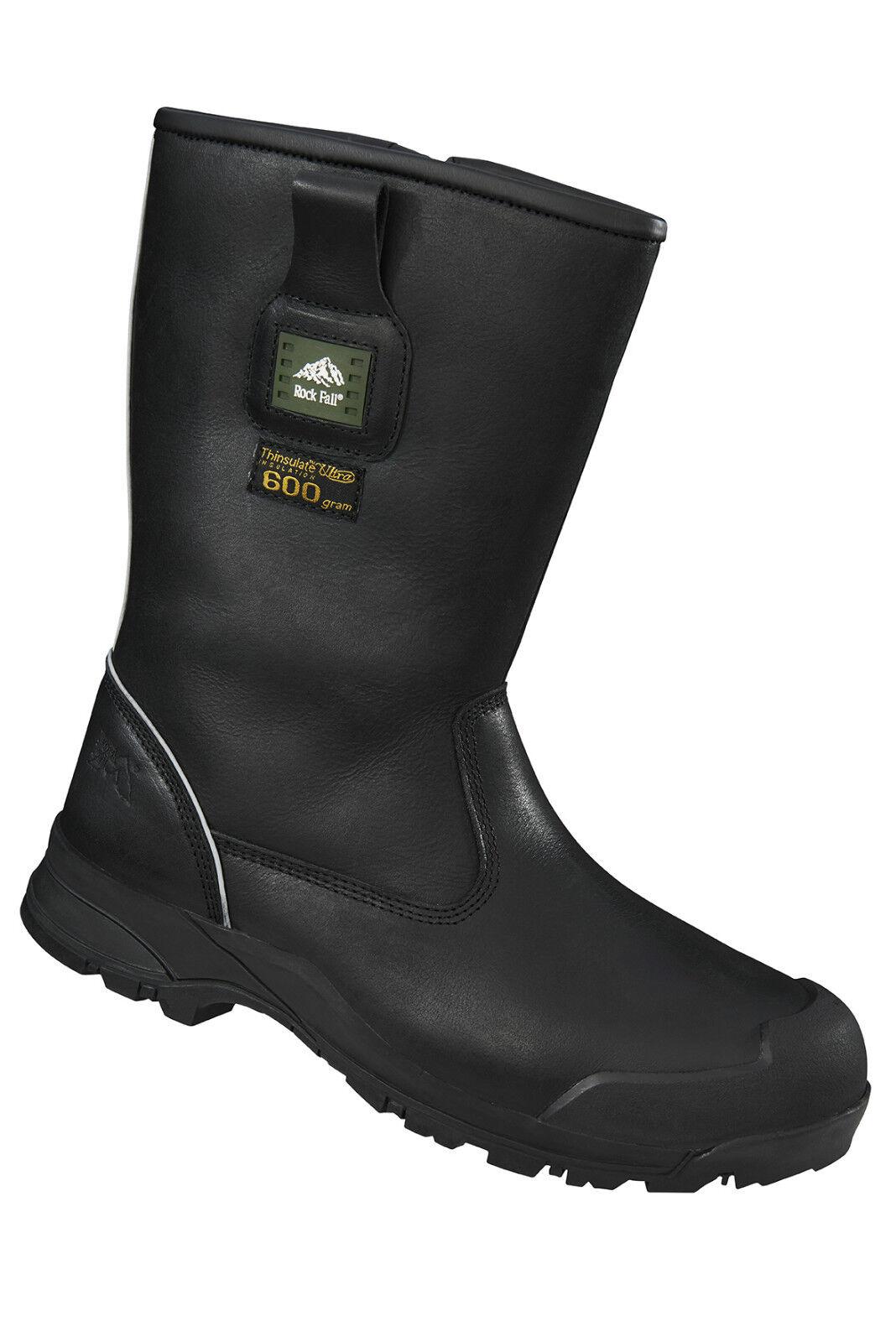 Rock FREDDO Fall rf040 Manitoba NERO FREDDO Rock lavoro Composite Toe Cap Safety Rigger boots 6071e1