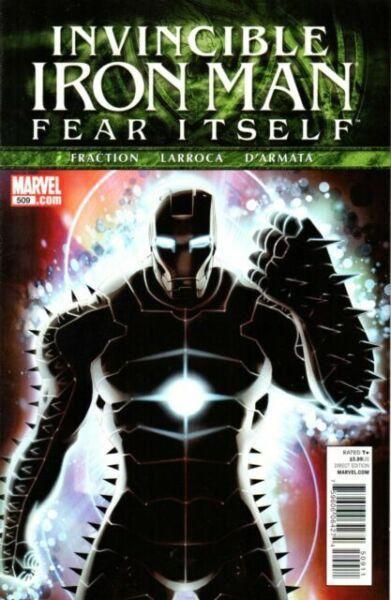 #518 VF//NM Long Way Down 2008 Part 3 Invincible Iron Man