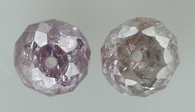 Natural Loose Diamond Rough Bead I3 Clarity Pink Color 1.00 to 100.00 Ct Q87