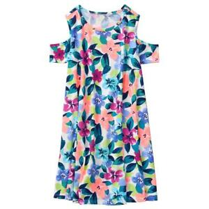 8a6475684010 NWT Gymboree Girl Cold Shoulder Dress Floral Everyday Playwear Mix N ...