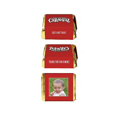 30 Carnival Circus Birthday Party Favors Personalized Nugget Labels