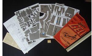 1980 S Geli Autriche General Dynamics Yf-16 Fighter Bomber Découpe Carte Modèle #64-afficher Le Titre D'origine éConomisez 50-70%