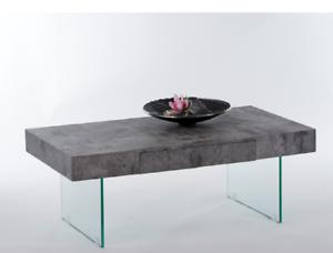 Couchtisch DAISY Beistelltisch Wohnzimmertisch Tisch in Beton ...