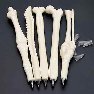 Novelty Creative Ball point Pen Bone Shape Nurse Doctor Student Stationery Gift
