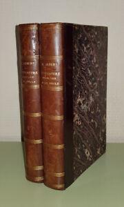 HSITOIRE DE LA LITTERATURE FRANCAISE VOLUMES I et II
