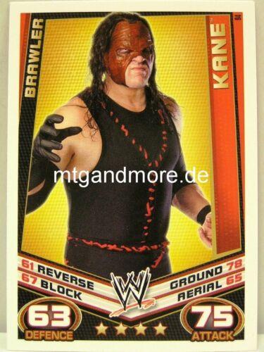 Brawler Slam Attax Rebellion #094  Kane