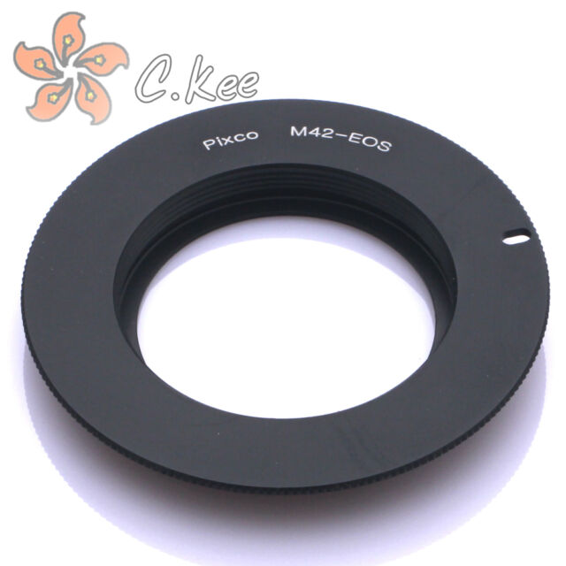 EMF AF Confirm M42 Lens to Canon EOS EF Adapter 600D 60D 5D Mark III 7D 50D