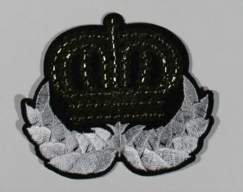 Army Military Police Wing Airforce Stars Crown  Iron sew On Embroidered Motif
