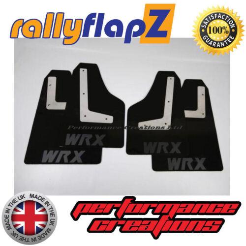 08-14 Parafanghi Neri WRX MATT BLK 4mm PVC RallyflapZ SUBARU IMPREZA HATCHBACK