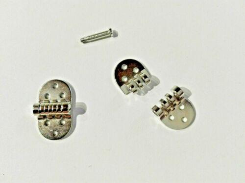 1 Paire haute précision-charnières Mini-charnières Lunettes de charnières 8 mm de large