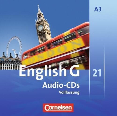 1 von 1 - English G 21. Ausgabe A 3. Audio-CDs (2008)
