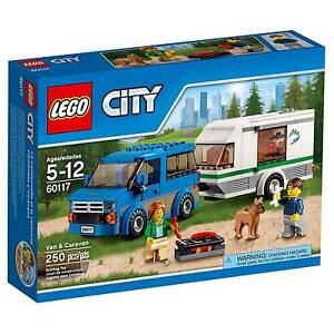f1e43e7bc966ff 60117 VAN   CARAVAN lego city town SEALED legos set NEW suv camper ...