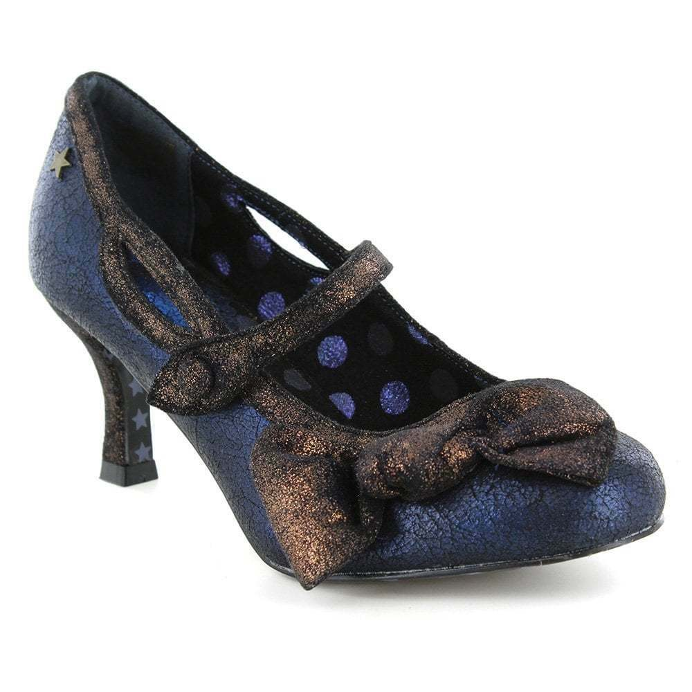 Joe Marronees jezabel Couture A3541 LINEA DONNA DÉCOLLETÉ MARY JANE Blu, Nero, oro