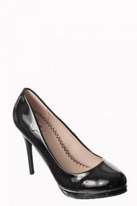 Interdiction Noir 10 Ch Dto Chaussures Vintage Talon Pump Brevet De Manhattan n0OxqwUS6