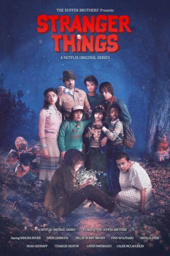 NEW - Fan Art 11x17 13x19 Stranger Things Custom Poster 2016