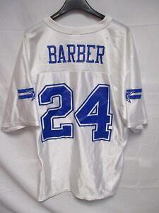 Détails sur VINTAGE Maillot foot US NFL BARBER n°24 COWBOYS DALLAS shirt M américain M blanc