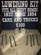 1947 1948 1949 Chevy Truck 3 Lowering Kit