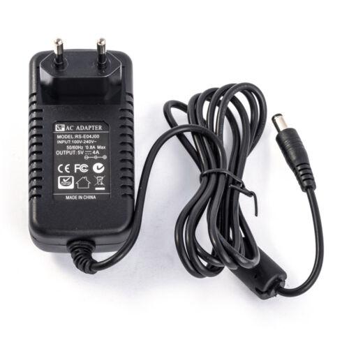 Unità Alimentazione 5V//4A 20W Adattatore RS E04J00 S02 Spina Connettore 5 5//2