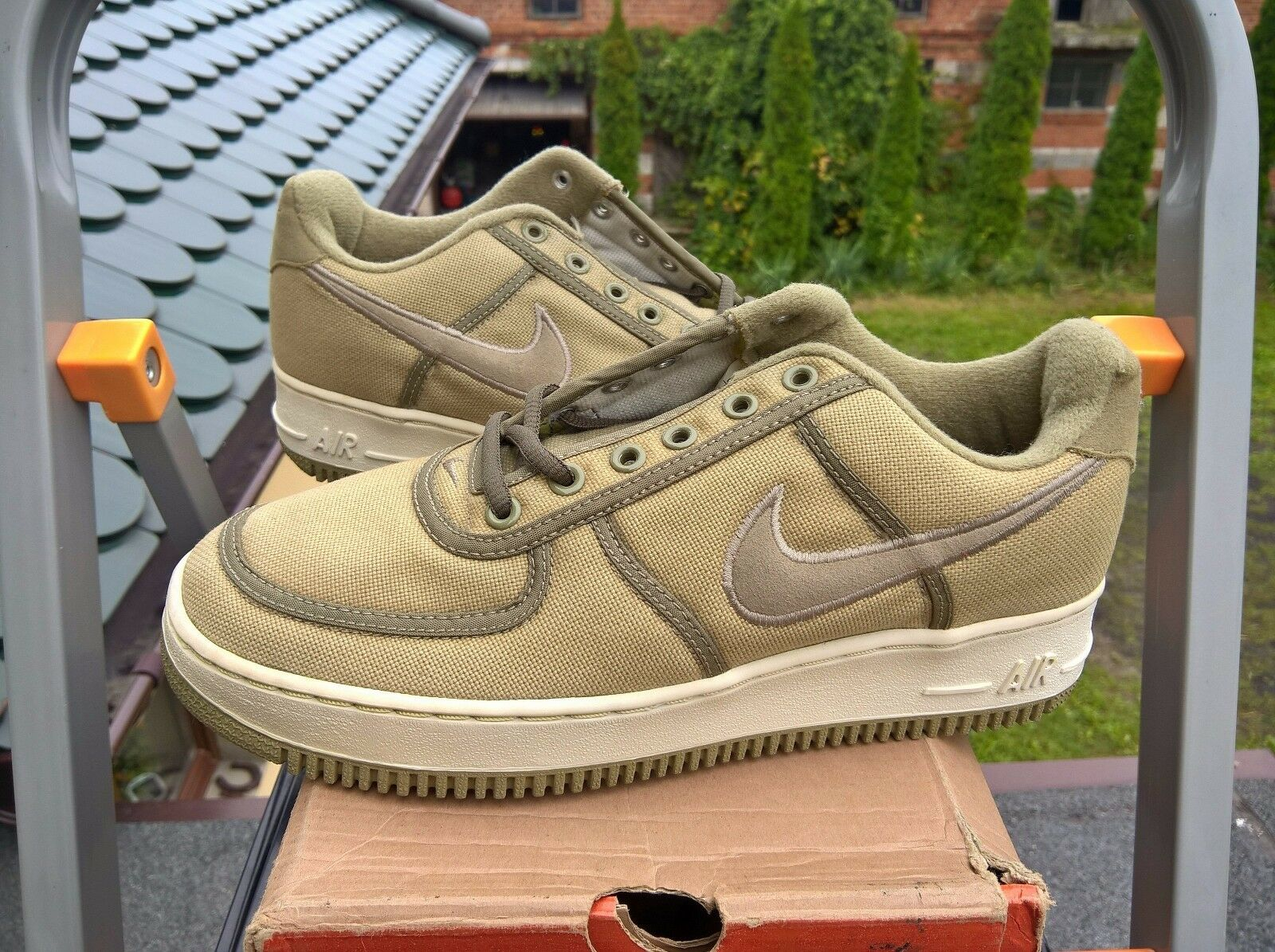 VINTAGE NIKE AIR FORCE 1 LOW CANVAS 2000 US8.5 US8.5 US8.5 AF1 CO.JP ATMOS RARE SUPREME KITH 005bc3