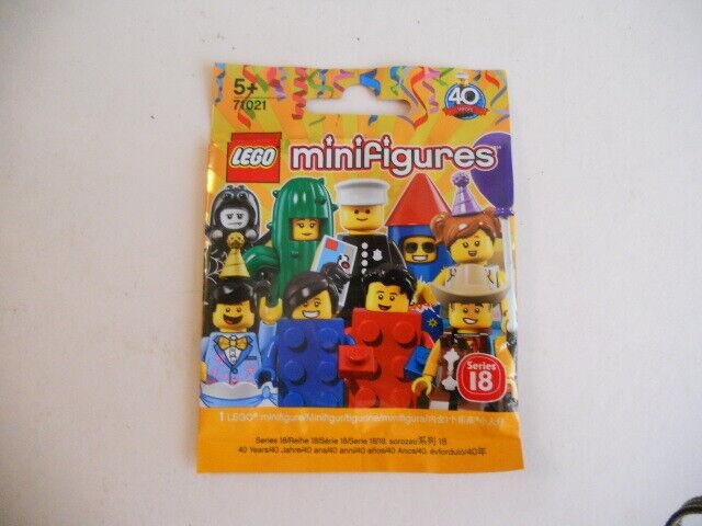 Lego 71021 figurine série 18 Party Set complet de  16 (aucun Officier de Police) - NEUF  offre spéciale