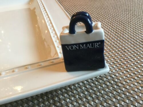 Nora Fleming Mini ~ Von Maur Shopping Bag Tote Purse NEW