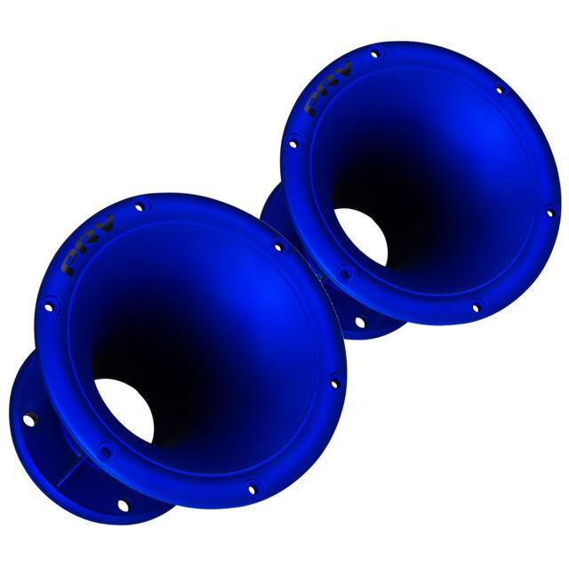 """Pair PRV Audio WGP14-50 Blue 2"""" 45 x 45 Compression Horn Waveguide 4-Bolt"""