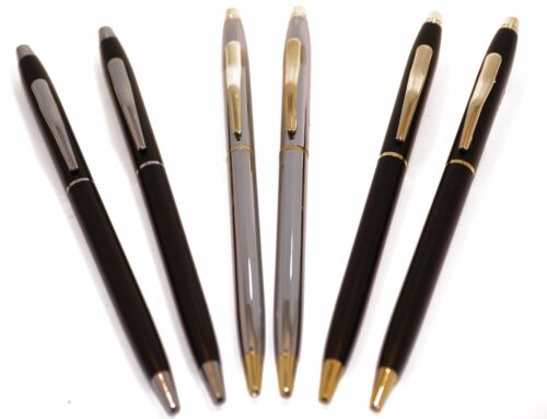 3 Pair Variety Pack Police Uniform Pens