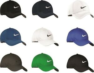 e8501ddbe3b Image is loading NIKE-GOLF-NEW-Adjustable-Fit-SWOOSH-FRONT-BASEBALL-