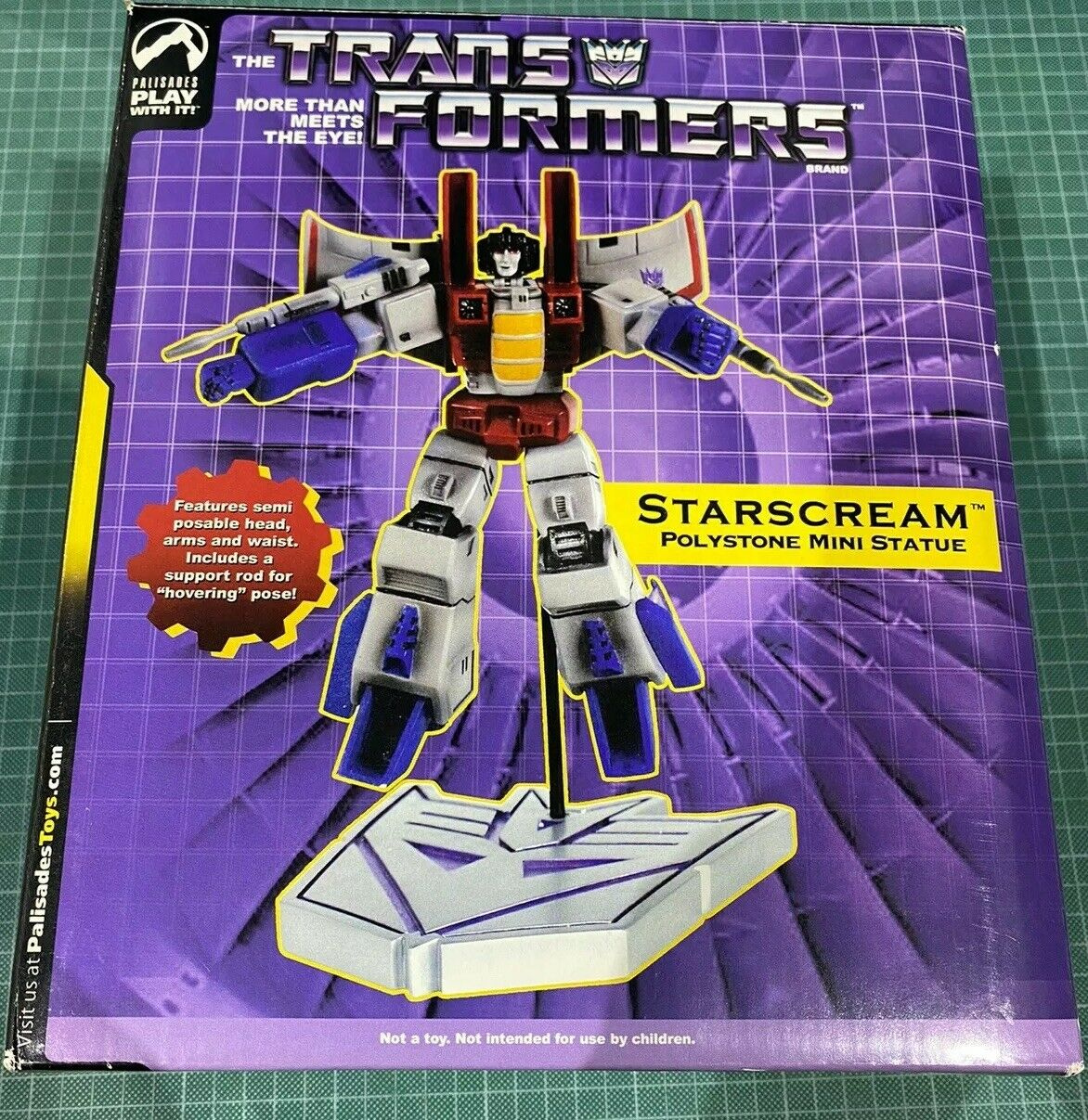 Palisade Toys Transformers StarScream Statue 187 Of 1500 Ltd Ed.
