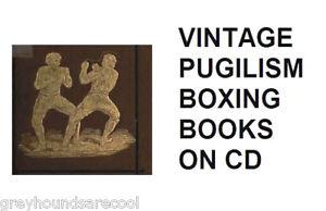 Vintage-Pugilism-Pugilists-Boxers-Boxing-Books-on-CD-Pugilistica-Corbett-Johnson