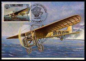 S-TOME-MK-1983-aeronautique-aviation-avion-plane-maximum-carte-MC-CM-m831