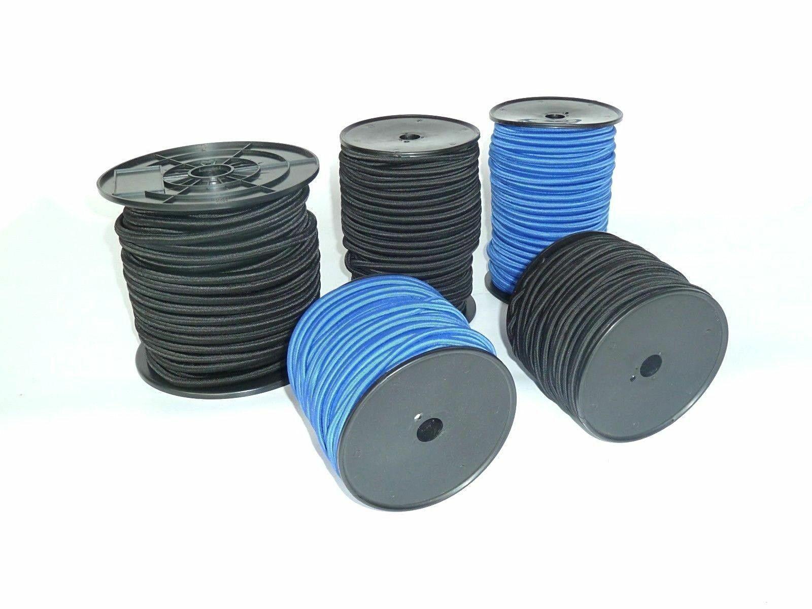 Supersaver 50 M Rolls Flat Rope Expander Rubber Cord