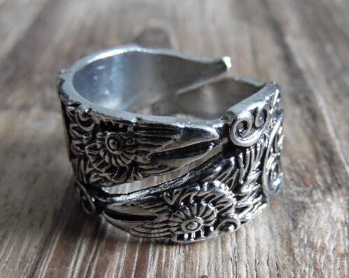 Hugin /& Munin Vikings Raben Odin Wotan Rabe Wikinger Ornament Ring