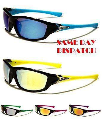 Sport XLOOP Mens Womens Boys Rectangle Wrap Mirror Sunglasses 100/%UV400 2562