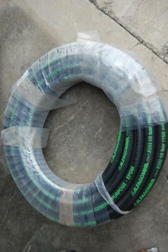 "Alfagomma T202AA 150 PSI EPDM general purpose hose 20 1 1//4/"" 100 feet"