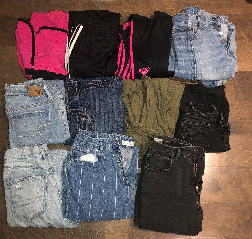GIRL / WOMENS CLOTHING LOT - μΡγέθη S-M - Ξ΅ΞΌΟ€ΞΏΟΞΉΞΊΟŒ ΟƒΞ�ΞΌΞ± (American Eagle, Adidas, ΞΊ.λπ.)