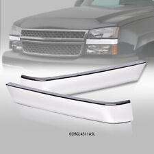 Fit For 2003 2007 Chevrolet Silverado Bumper Grille Molding Filler Trims Lhrh Fits 2005 Chevrolet Silverado 2500 Hd Ls