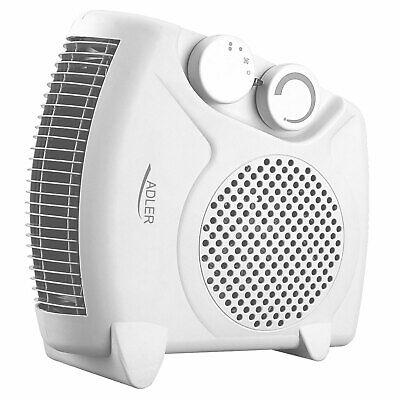 Calefactor ventilador aire caliente termoventilador 2 niveles 1000/2000W ADLEr