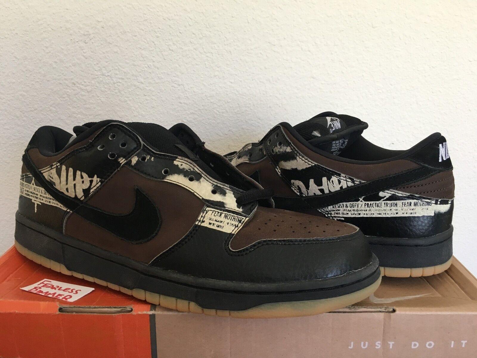 Nike e basso zoo pro sp zoo basso york sb 46 paul brown nero d837b1