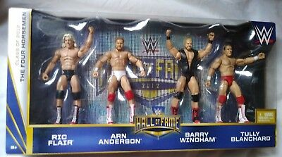 The Four Horsemen Hall of Fame WWE Elite 4 pack figures Ric Flair Arn Anderson