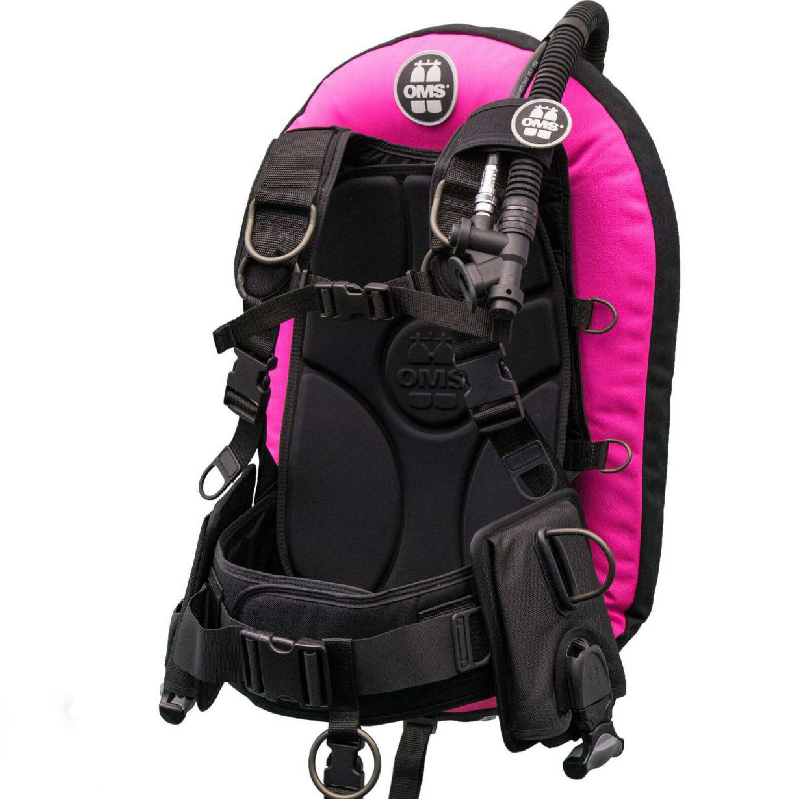 LO3   OMS   BCD IQ Lite PF Mono 27 lb  size Xlarge pink lady