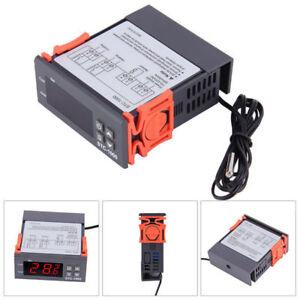 10A-220V-Digitaler-Temperaturregler-Grad-Sensor-Digital-Thermostat-Instrument-DE