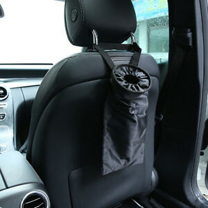 THEE Car Garbage Bag Leakproof Washable for Home Office Vehicle Back Hanging Trash