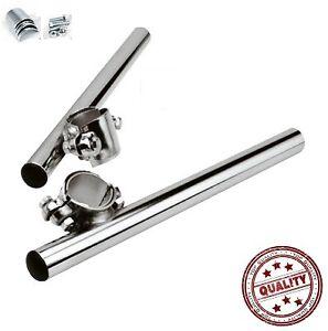 demi guidon bracelet moto cyclo diam tre 32 mm a 35 mm chrome pr cgn 168022 ebay. Black Bedroom Furniture Sets. Home Design Ideas