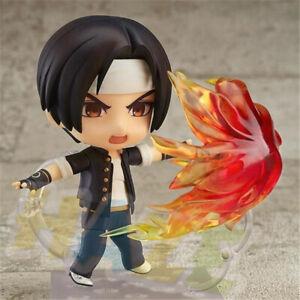 Nendoroid-683-Anime-The-King-Of-Fighters-Kyo-Kusanagi-Figure-Figurine-Toy-10cm