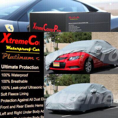 1997 1998 1999 2000 2001 Toyota Camry Waterproof Car Cover w//MirrorPocket GREY