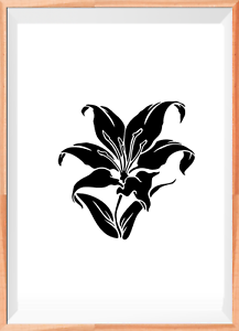 FLOWER STENCIL FOR Airbrush Painting Art Craft DIY Home Decor p