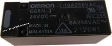 4 Stück - OMRON G6RN-1 Relais 24V 8A Printmontage - G6RN-1-DC24 G6RN-1-24VDC