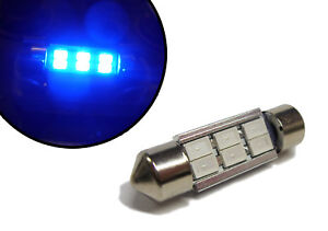 LED-BLU-LUCE-INTERNA-Bulbo-FESTONE-239-36mm-per-MERCEDES-MMC-Smart-AUTO-URBANO