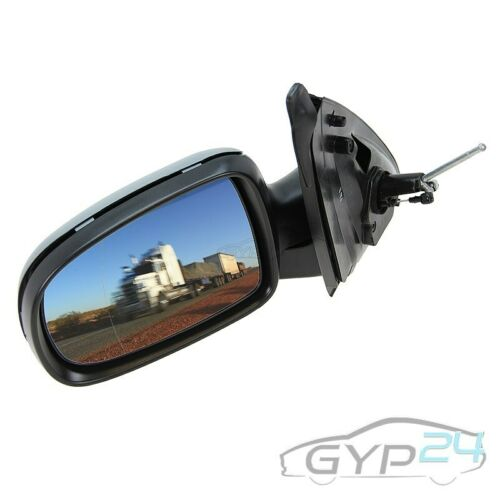 Espejo exterior izquierda asphärisch manualmente imprimarse pintable Opel